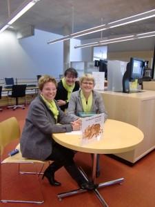 Bibliotheksmitarbeiterinnen