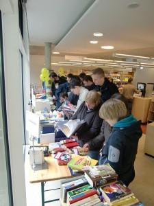 Impressionen vom 3. Bücherflohmarkt 2010