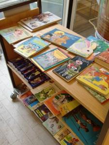 Kinderbücher zum Bücherflohmarkt