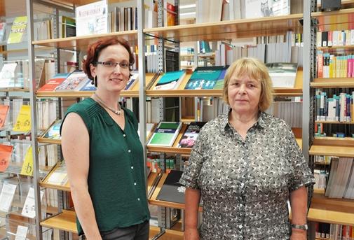 Andrea Sieber und Helga Leischner