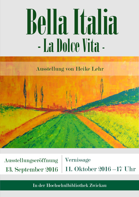 Plakat Bella Italia