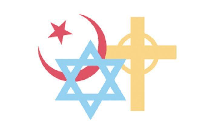 Symbole der Buchreligionen